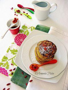 Armonia Paleo: Pancakes al Cocco e Bacche di Goji