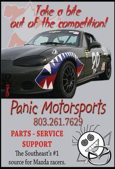 Panic Motorsports, yep, that's us! www.panicmotorsports.com  :)