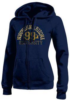 CHAMPION PRODUCTS : Northern Arizona Women's Full-Zip Hooded Sweatshirt : Northern Arizona University Bookstore