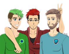 Unholy Trinity by AaronML on DeviantArt. Jack, Mark and Poods!