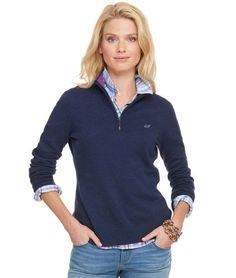 Shop Quarter Zip Sweater at vineyard vines