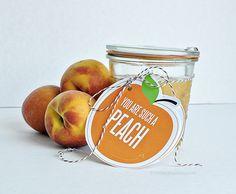Brown Sugar Peach Scrub
