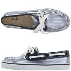 boat shoes for school Navy Boat Shoes, Nautical Looks, Nautical Stripes, Shoes For School, Scarf Jewelry, Jewlery, My Wallet, The Chic, Cute Shoes