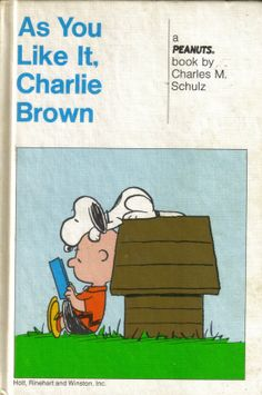 As You Like It Charlie Brown  1964 by ShopHereVintage on Etsy, $10.00