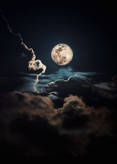 Storm Wallpaper, Night Sky Wallpaper, Trippy Wallpaper, Galaxy Wallpaper, Moon Images, Moon Photos, Moon Pictures, Light And Shadow Photography, Moon Photography