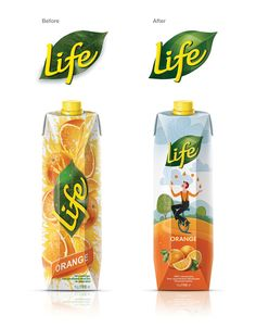 Before & After: Life Juices — The Dieline - Branding & Packaging Design