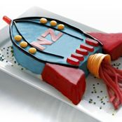 Free children's birthday spaceship cake recipe. Try this free, quick and easy children's birthday spaceship cake recipe from countdown.co.nz.