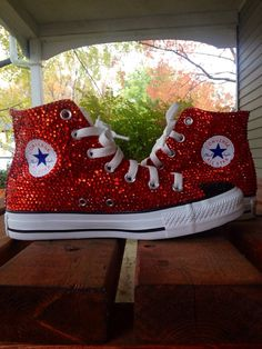 Bedazzled Sneakers Prom homecoming wedding by BedazzledSole, $75.00
