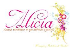 Alicia | ALICIA | Pinterest | Tu nombre, Nombres y Fomi