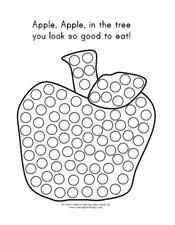 Apple Bingo Marker Page This Actually Links To An Quot A Is