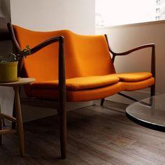 フィン・ユール/EasySofaイージーソファNo.45【2人掛】 - デザイナーズ家具専門通販店|N PLUSエヌプラス