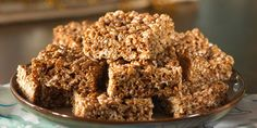 Cocoa Krispies® Treats™ Recipe | Kellogg's® Rice Krispies® - we can use this recipe for the nests and even make it there since we have a microwave there.
