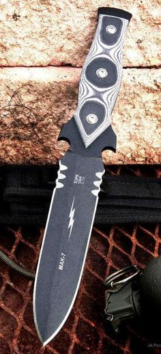 Tops Knives MAK-7 Tactical Fixed Combat Fighting Blade Knife