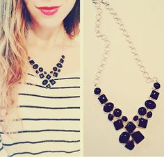 Onyx Neclace from Majestical is so glam.  http://www.majestical.com/Black-Onyx-Statement-Necklace-p/nec-7125-sis.htm
