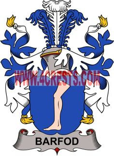 Barford coat of arms / family crest #denmark #by name #symbol #family #shield #crest #by last name #genealogy #heraldry #shields #danish #tattoo #craft #logo