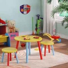 With a half-foot of snow still on the ground, why am I pondering the perfect kid table and chairs for outside? In a word, nostalgia. My twins...