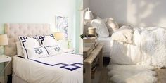 Design Duel: Bedding Style, Crisp vs. Relaxed