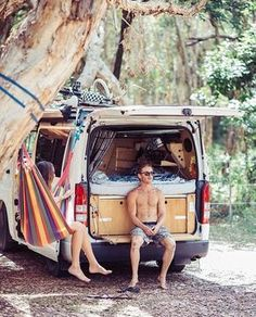 """7,182 Likes, 48 Comments - Vanlife Diaries (@vanlifediaries) on Instagram: """" @natmo_ Love the fold down back seat. Genius. #vanlifediaries Your life, your way. Post by…"""""""