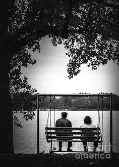 Sitting With My Sweetheart by Rosette Doyle