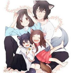 Wolf Children it is such a wonderful and sad story