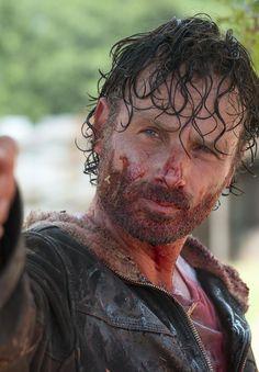 The Walking Dead Season 6 Episode 11 'Knots Untie' Rick Grimes