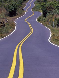 Crooked Road in Upcountry, Maui, Hawaii.haha, seen a few of these over the years! Vacation Villas, Vacations, Top Honeymoon Destinations, Maui Travel, Maui Hawaii, Biking, Murals, Travel Ideas, Over The Years