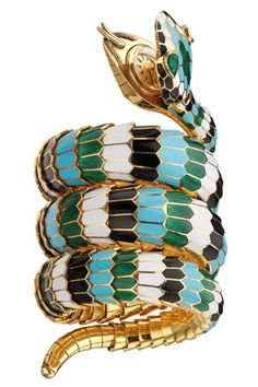 Serpenti by Bulgari Bvlgari, Luxury Watches, Vintage Jewelry, Bangles, Jewels, Rings, Snakes, Reptiles, Jewellery
