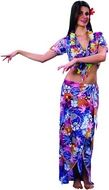 Hawaiiaanse dame outfit