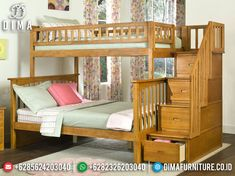Bunk Beds With Drawers, Bunk Bed With Trundle, Bunk Beds With Stairs, Full Bunk Beds, Kids Bunk Beds, Loft Beds, Full Bed, Staircase Bunk Bed, Kids Toddler Bed