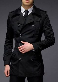 Mens Fashion Winter – The World of Mens Fashion Trench Coat Men, Sharp Dressed Man, Mens Fashion, Fashion Outfits, Trendy Clothes For Women, Gentleman Style, Work Attire, Stylish Men, Fashion Pictures