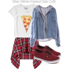 """""""Teen Wolf - Stiles Stilinski Inspired Date Outfit"""" by staystronng on Polyvore"""