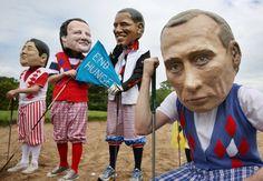 Is Putin under par?