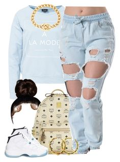 """D.A.M x Fetty Wap"" by lulu-foreva ❤ liked on Polyvore featuring VILA, MCM, Retrò and Chanel"
