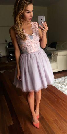 Rozkloszowana tiulowa sukienka Honey