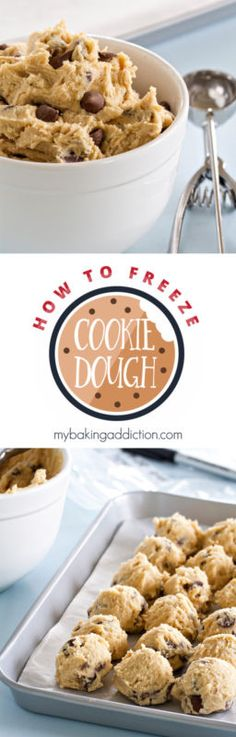 How To Freeze Cookie Dough   eBay