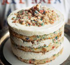 The Best Ideas for Momofuku Milk Bar Birt… momofuku milk bars birthday layer cake.The Best Ideas for Momofuku Milk Bar Birthday Cake Milk Bar Birthday Cake, Cool Birthday Cakes, 13 Birthday, Birthday Recipes, Healthy Birthday, Rainbow Birthday, Milk Bar Cake, Colorful Birthday, Cupcakes