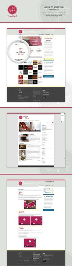 The main concept is restaurant can create their profile to increase marketing and user can also can get best restaurant and after visit they can also earn/redeem points.  CodeIgniter , PHP , Web Design