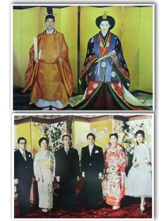 vintage Japanese photo print imperial wedding kimono emperor empress akihito michiko traditional Hirohito showa Wedding Kimono, Japanese Prints, Vintage Japanese, Emperor, Traditional, Shopping, Collection, Products, Gadget