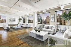 Co-op for sale in Chelsea, Manhattan for $5,695,000, 7 rooms, 3 beds, 3 baths…