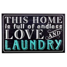 Laundry Wall Plaque Turquoise Laundry Word Wood Wall Decor  Laundry Room  Pinterest