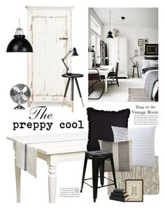 """The Preppy Cool"" by barngirl ❤ liked on Polyvore featuring interior, interiors, interior design, home, home decor, interior decorating, abcDNA, Serena & Lily, Couleur Nature and Original BTC"