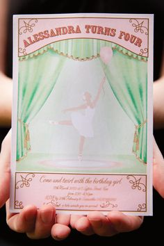 Ballerina Birthday Party + Pink Tutu Backdrop // Hostess with the Mostess®
