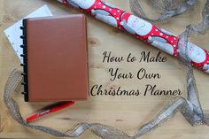 #ad How to make your own DIY Christmas planner with supplies from @officedepot!