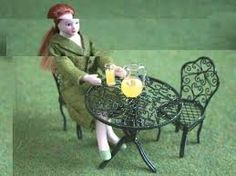 dolls house garden - Google Search
