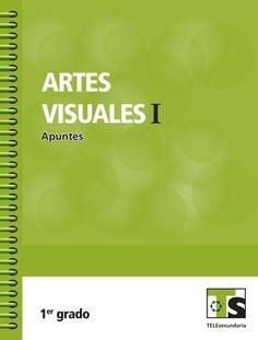 """Cover of """"Artes visuales primer grado"""""""
