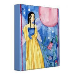 Fairy Moon Magic 3 Ring Binder Nursery Paintings, Nursery Art, Summer Tunes, Moon Fairy, Fairy Queen, Butterfly Fairy, Blue Fairy, Moon Magic, 3 Ring Binders