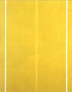 Newman, Barnett (1905-1970) - 1949 Yellow Painting
