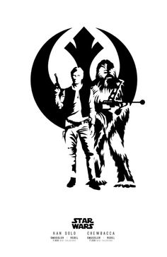 Han and Chewie by bensmind