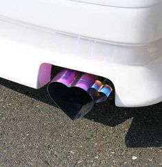 This exhaust.