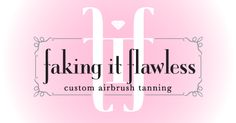Gotta love FIF...bronzing each and every beauty in Calabasas and Valencia!